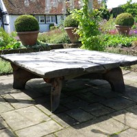 14. Large Table in oak